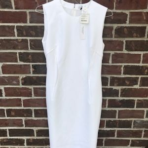 versace collection white donna dress new with tags